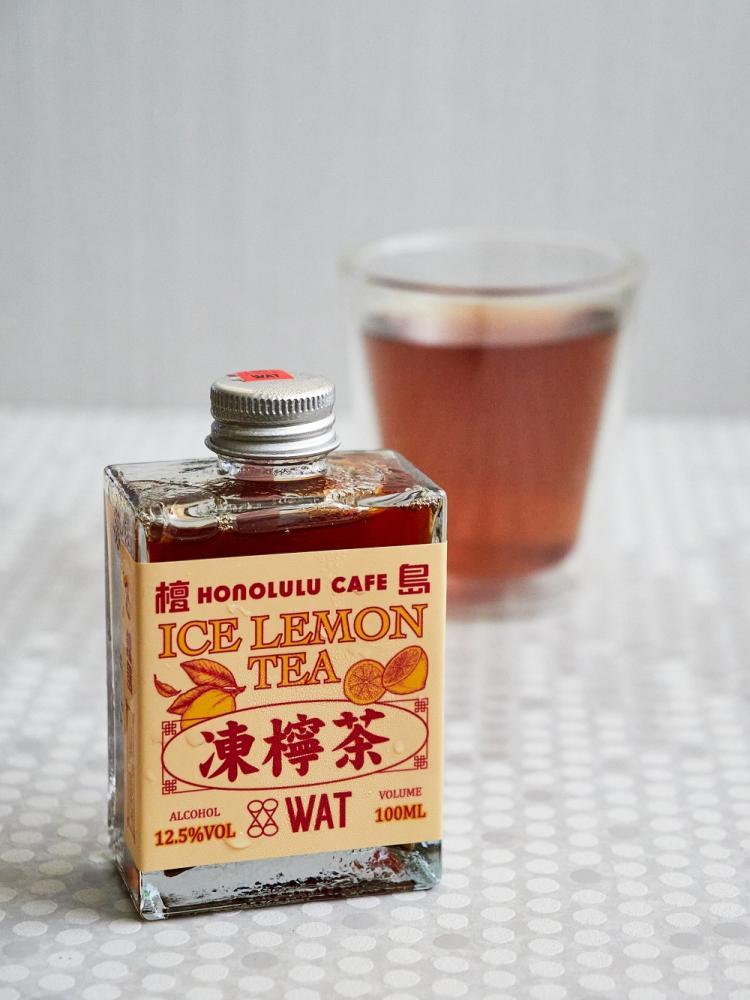 凍檸茶/WAT/台北/台灣/佐餐調酒