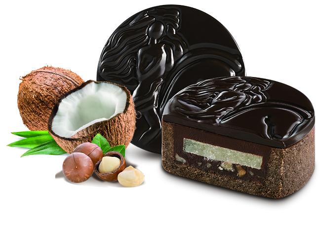 椰蓉夏威夷果仁黑巧克力月餅/GODIVA  2020中秋系列禮盒/中秋禮盒/台灣/台北
