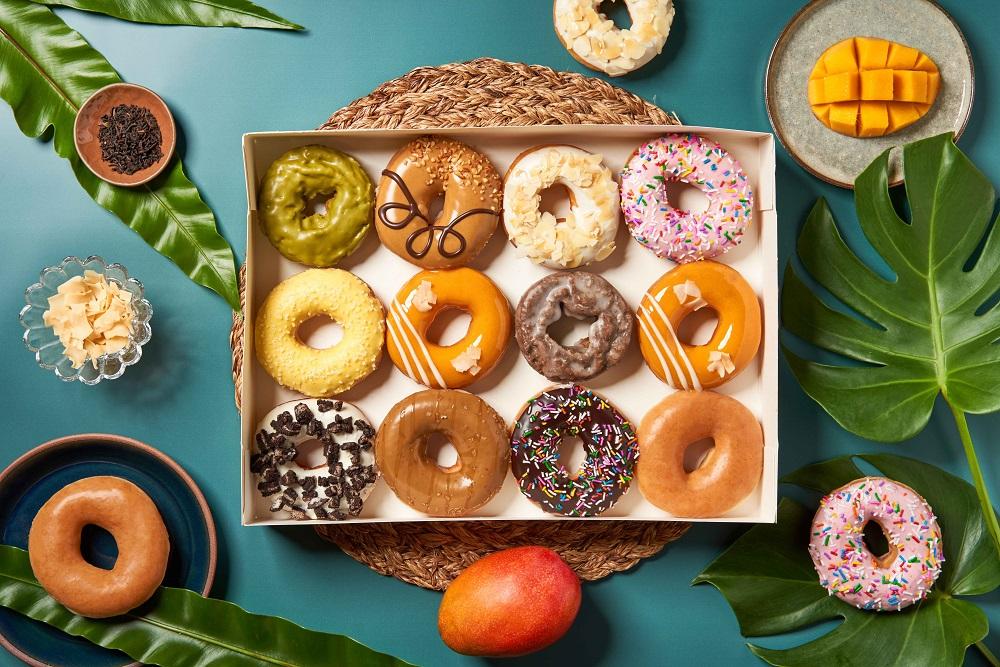 Krispy Kreme/亞洲風味系列甜甜圈/台灣