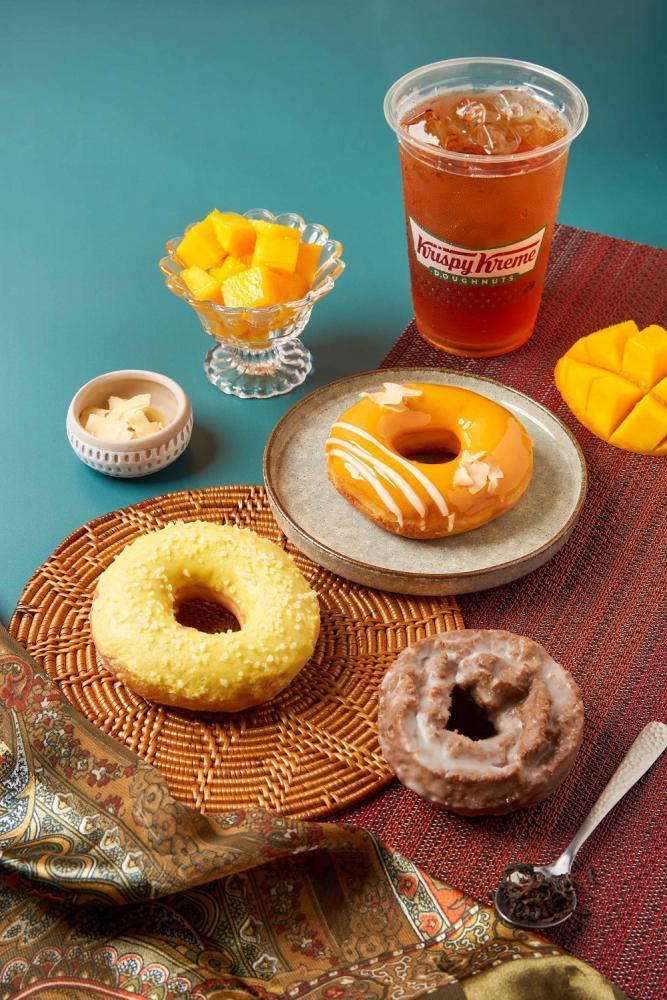 亞洲風味系列甜甜圈/台灣/Krispy Kreme