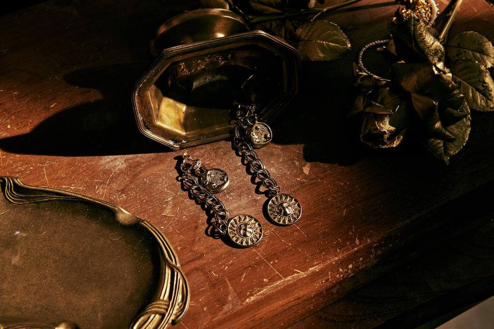 太陽神硬幣耳環/Hannah Jewelry/特洛伊系列/飾品/誠品生活