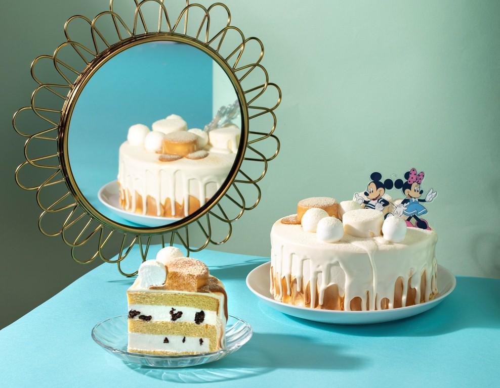 米奇米妮款太妃香草雪蛋糕/蛋糕/BAC/台灣
