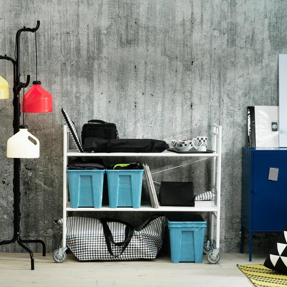 IKEA/台灣/IKEA X Greyhound Original /SAMLA收納盒