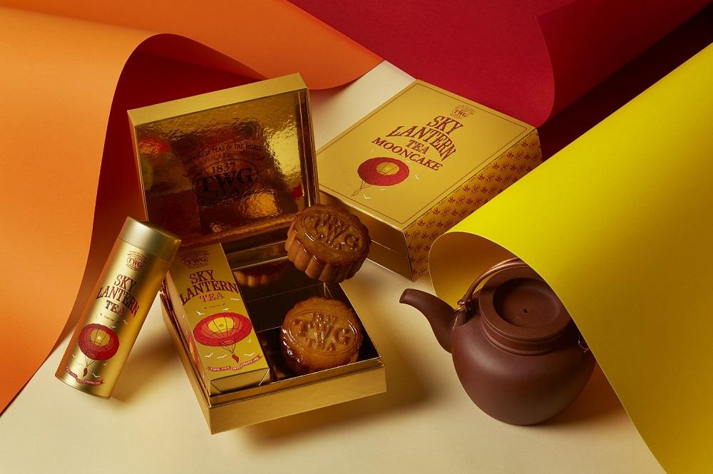 TWG Tea/茶香月餅禮盒/台灣/世界奢華茶葉品牌/天燈頌願茗茶