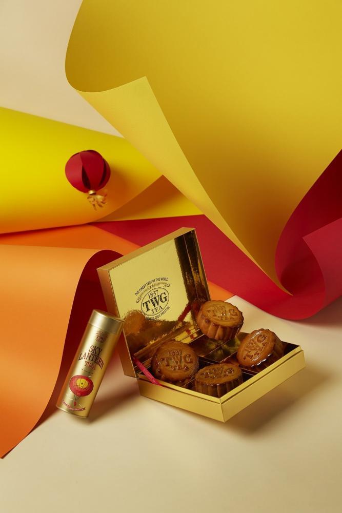 TWG Tea/茶香月餅禮盒/台灣/世界奢華茶葉品牌