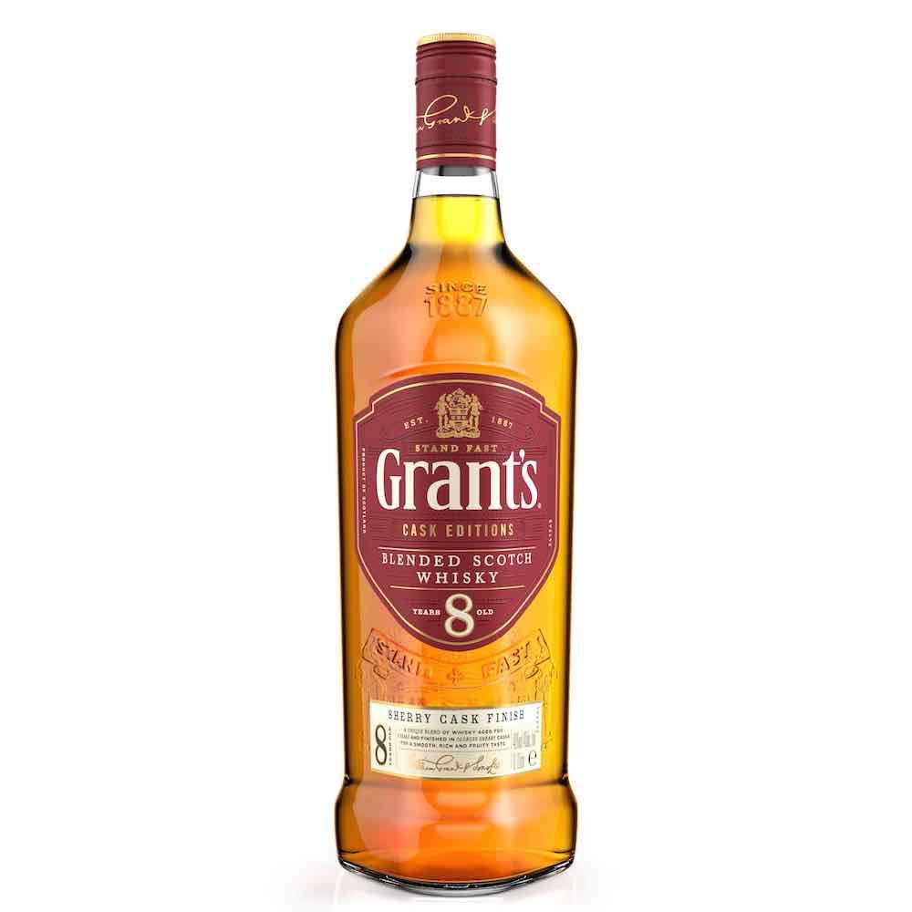 Grant's格蘭8年雪莉風味桶蘇格蘭威士忌/威士忌男人真心話/格蘭父子/台灣