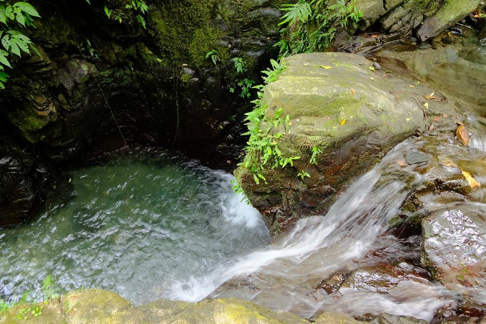 得子口溪的清澈水潭