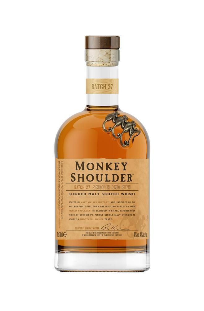 Monkey Shoulder三隻猴子三重麥芽威士忌/威士忌男人真心話/格蘭父子/台灣