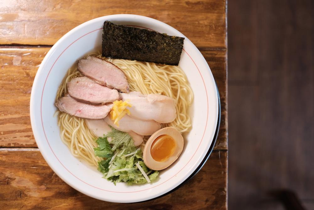 鹽味柚子拉麵/道樂屋台/士林美食/台北美食/台灣