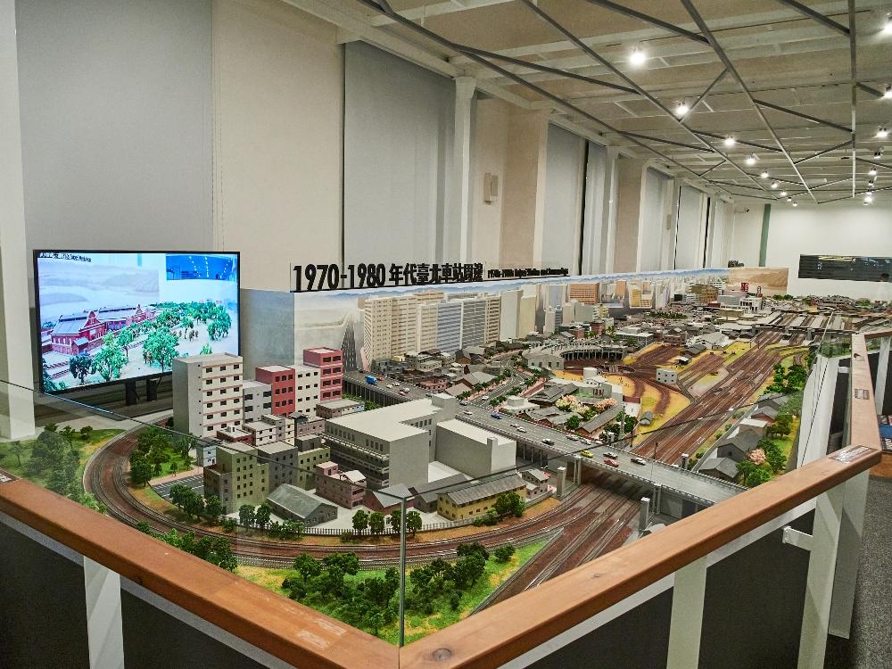 模型/台灣鐵道博物館/台北/台灣/旅遊/展覽