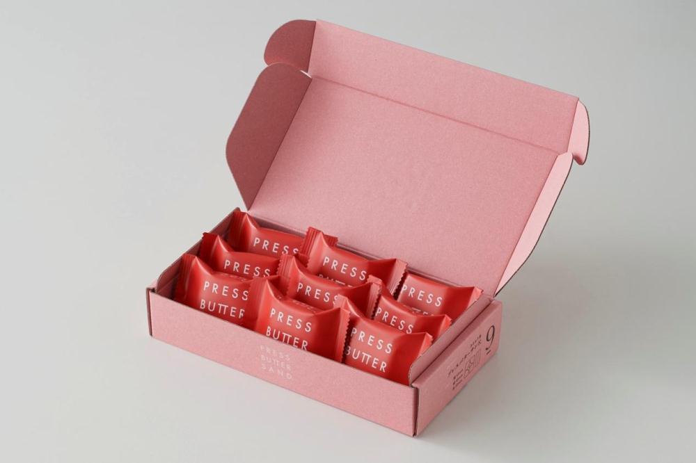 草莓奶油夾心餅/PRESS BUTTER SAND/日本伴手禮/台灣