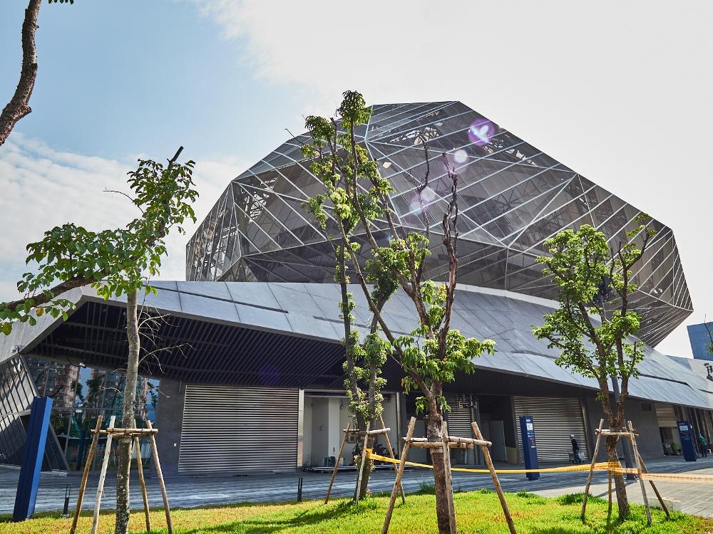 外觀/台北流行音樂中心/市民大道/地標/台灣