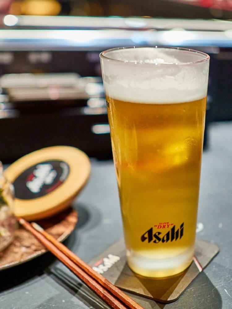 啤酒/Asahi SUPER DRY/日式料理/美食/台北/台灣