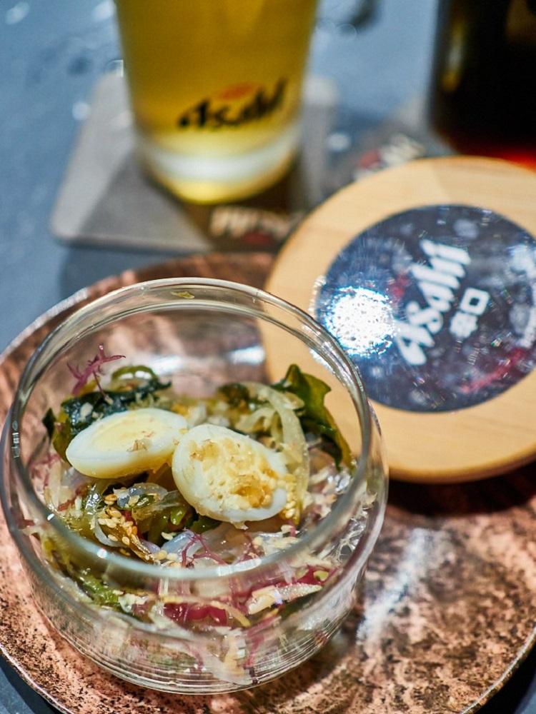 煙燻海草物/Asahi SUPER DRY/日式料理/美食/台北/台灣
