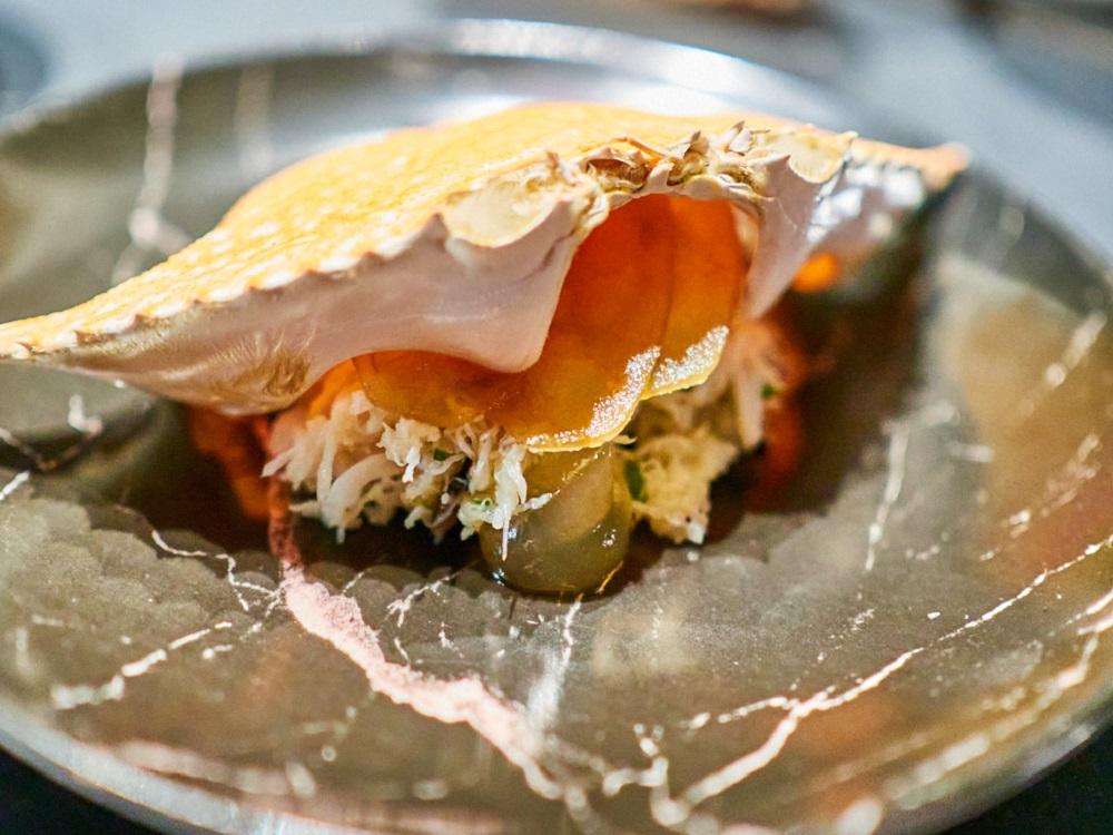 泰國藍鑽蟹/Asahi SUPER DRY/日式料理/美食/台北/台灣