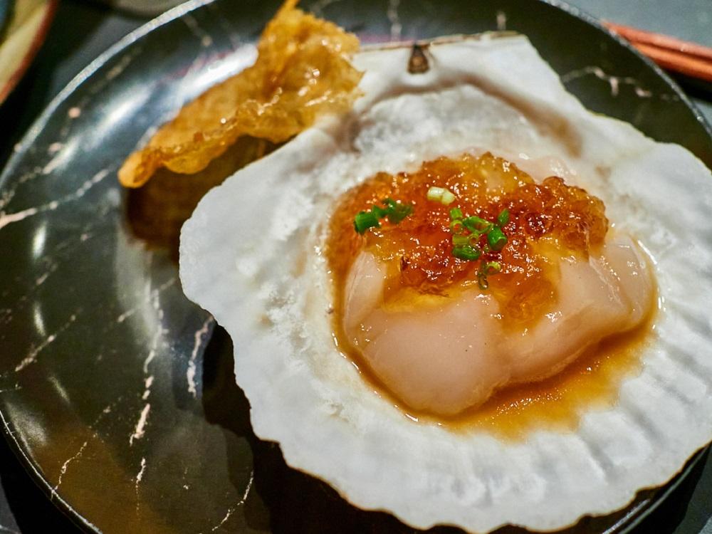 海派雞皮干貝/Asahi SUPER DRY/日式料理/美食/台北/台灣