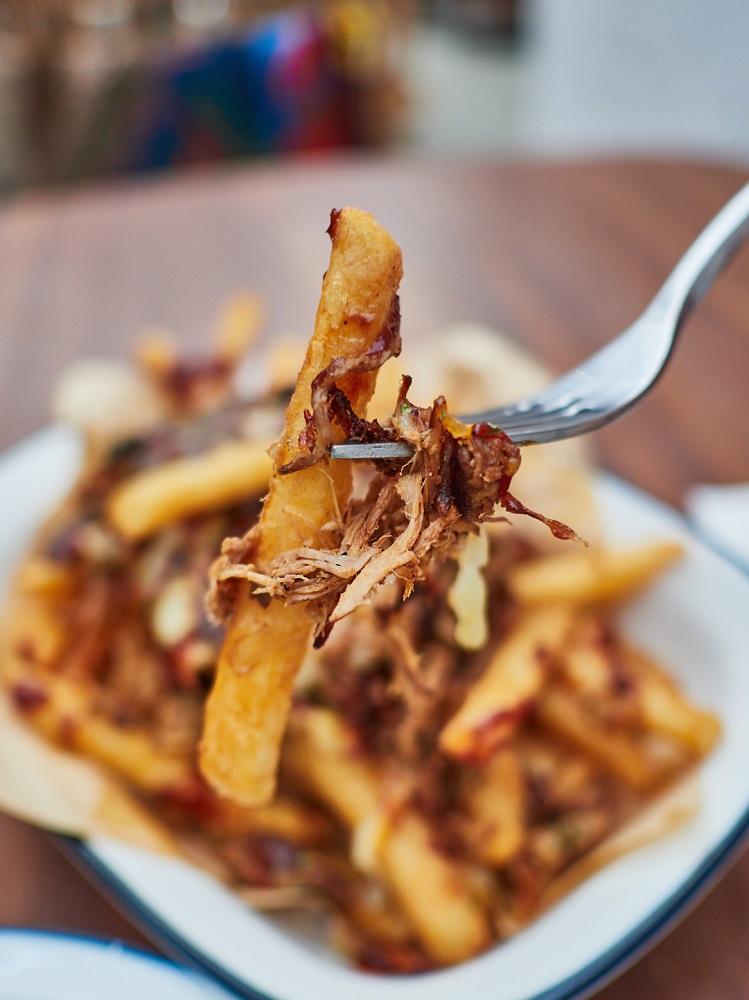 肉醬薯條/內部空間/Poolpool 美墨餐廳/早午餐/美食/台北/台灣
