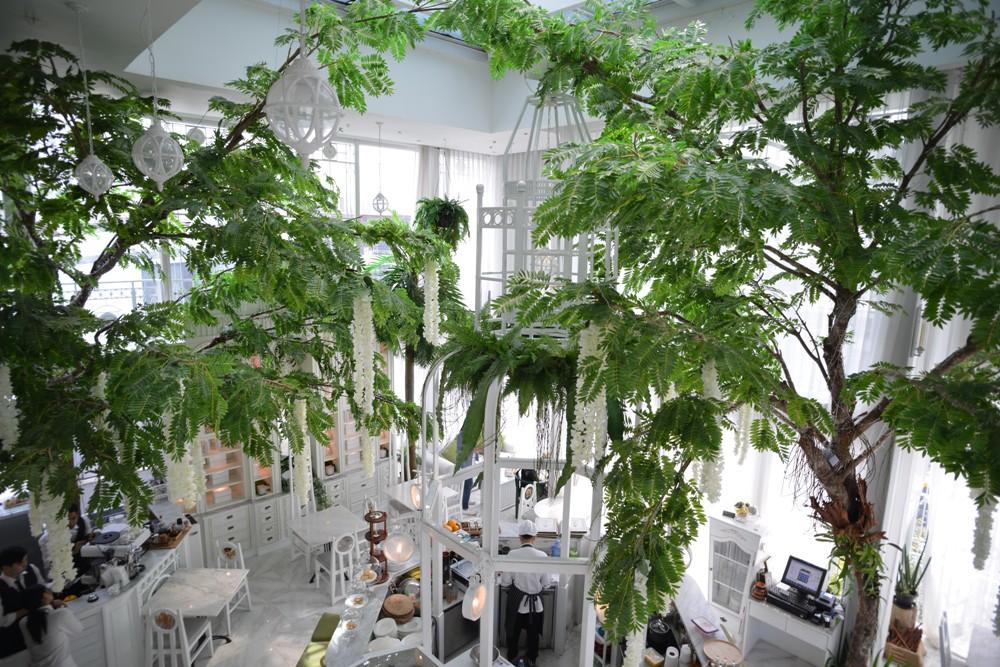 Organika Café & Restaurant/玻璃屋/空中花園/香氛/曼谷/泰國