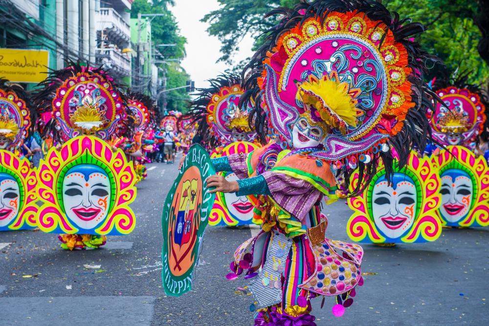 菲律賓/巴克羅/中秋節/面具節