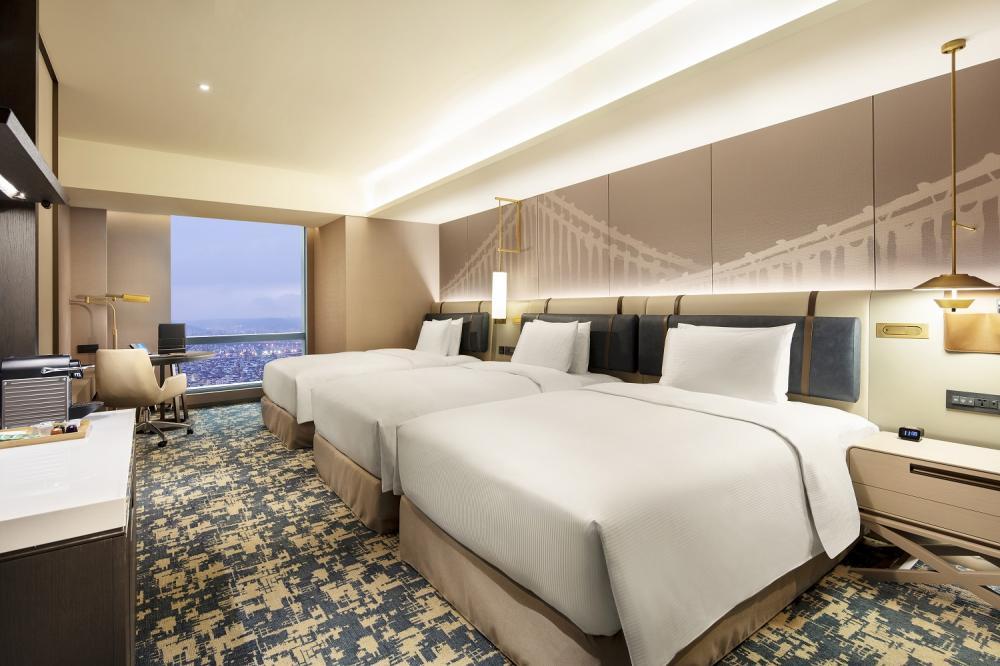 三人房/台北新板希爾頓酒店/新北/台灣