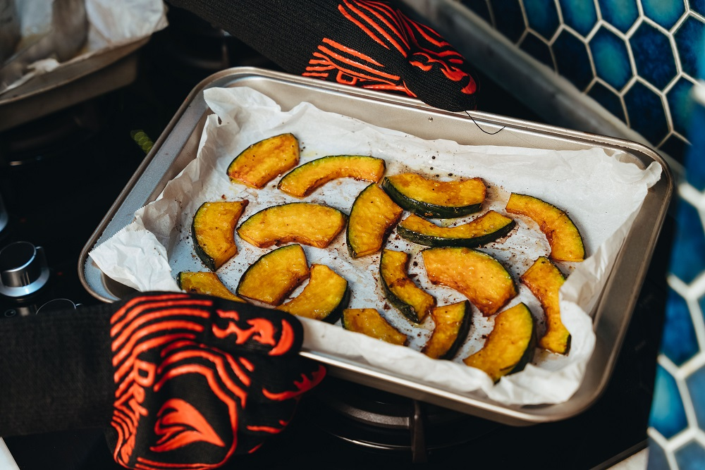 巴薩米克醋烤南瓜/下酒菜/美食/台灣