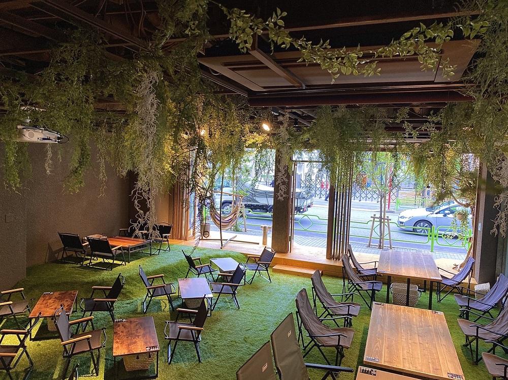 REWILD OUTDOOR TOKYO/森林餐廳/美食/東京/日本
