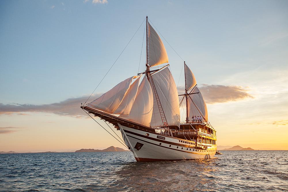 外觀/The Coral Triangle/Prana by Atzaro/奢華帆船遊艇/印尼式雙桅