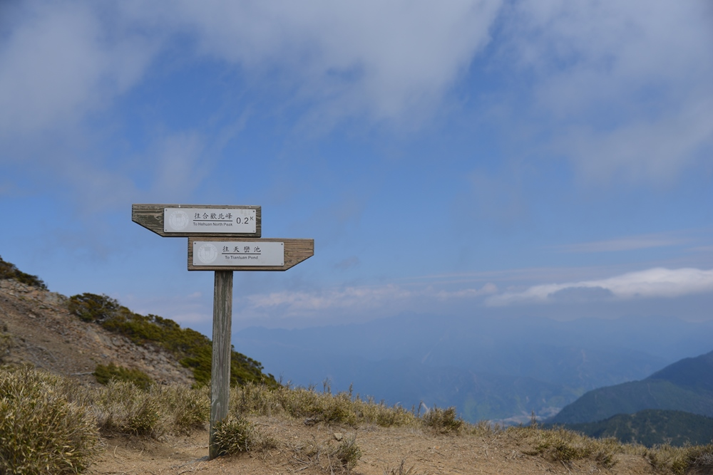 合歡北峰/南投旅遊/合歡群峰/深度旅遊/台灣步道