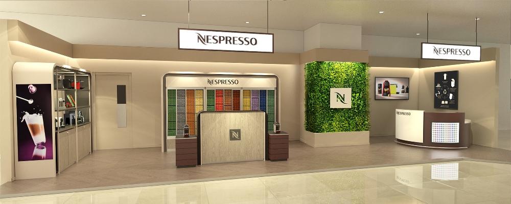 店外觀/Nespresso中壢精品店/法式手工冰淇淋/蘇門達臘熟成咖啡/Nespresso/咖啡/冰