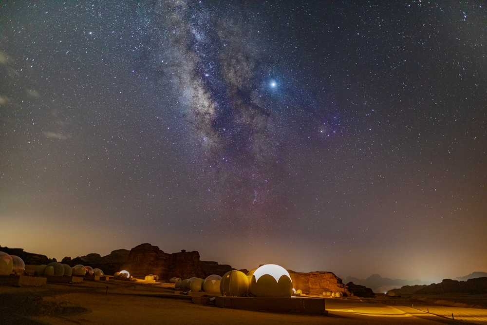 Wadi Rum Bubble Luxotel/觀星勝地/瓦迪拉姆/約旦/Booking.com