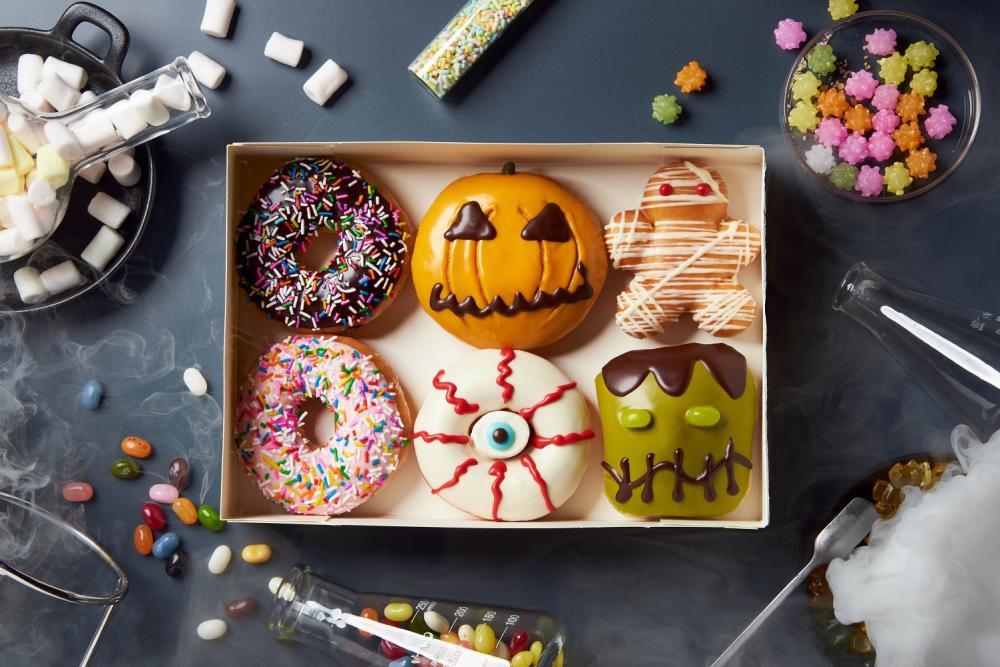Krispy Kreme/萬聖節/台灣/甜甜圈