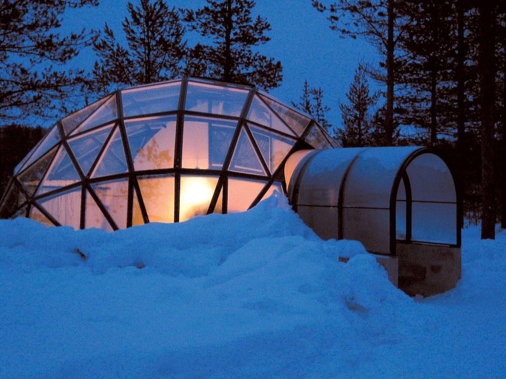 Igloo Village of Hotel Kakslauttanen/雪屋/住宿/烏爾霍凱爾國家