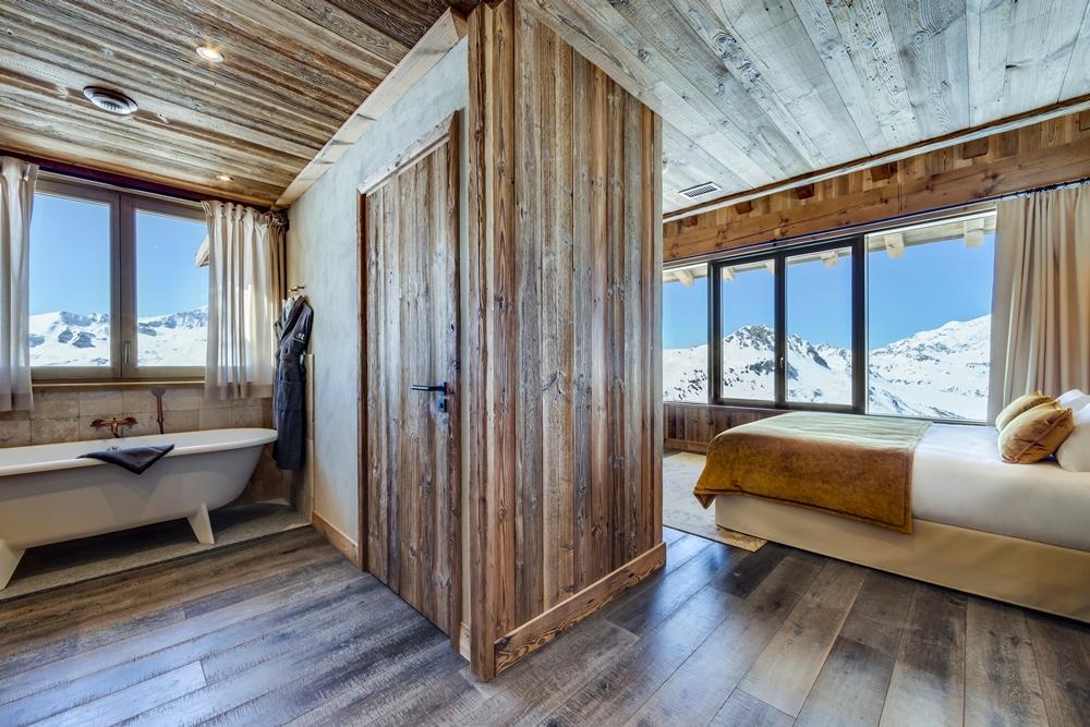 套房/Le Refuge de Solaise/最高海拔旅宿/童話雪屋/阿爾卑斯連峰/法國/歐洲
