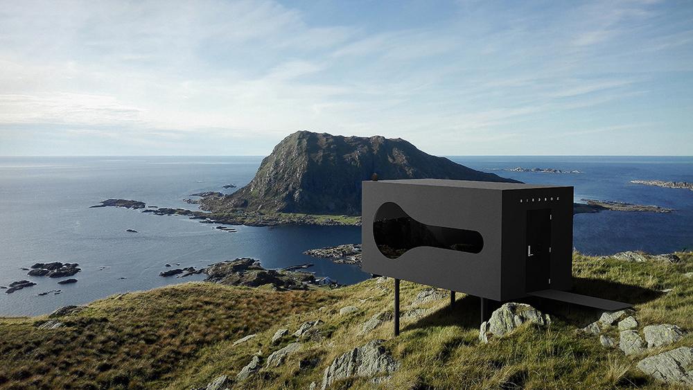 挪威/Birdbox/鳥箱/設計建築/Torstein Aa