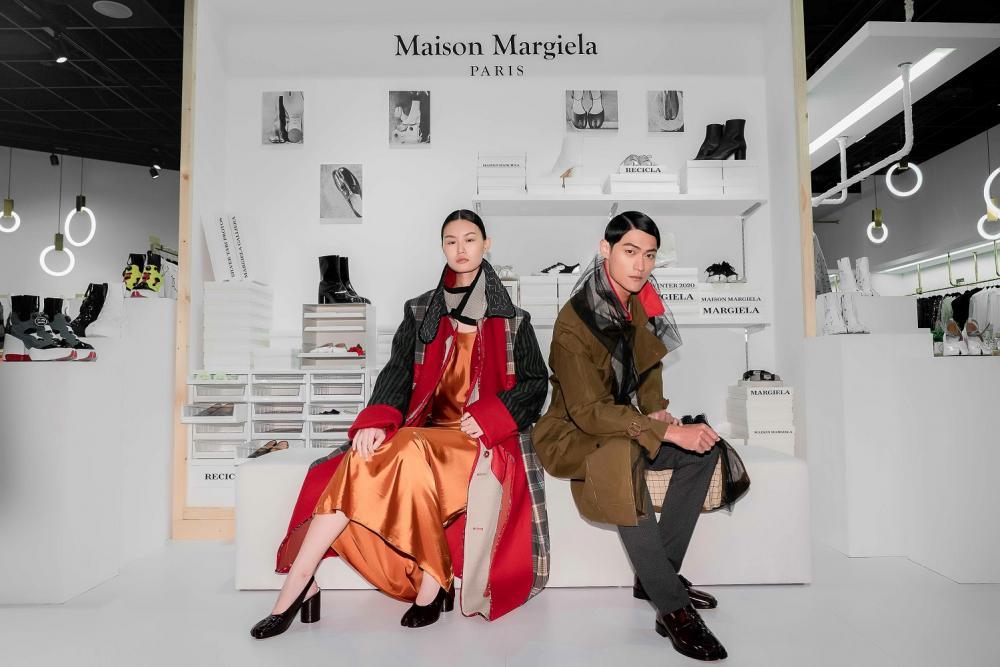 服裝/Maison Margiela/Tabi Shoes 快閃陳列/onefifteen 初衣食午
