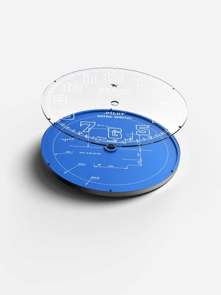 錶盤/PILOT 飛行員系列 TYPE 20 限量版腕錶/ZENITH真力時/手錶