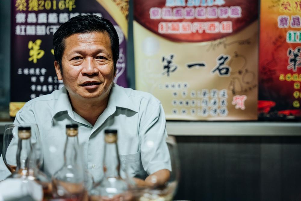 楊秉森/葡萄酒/秉森酒莊/彰化/台灣