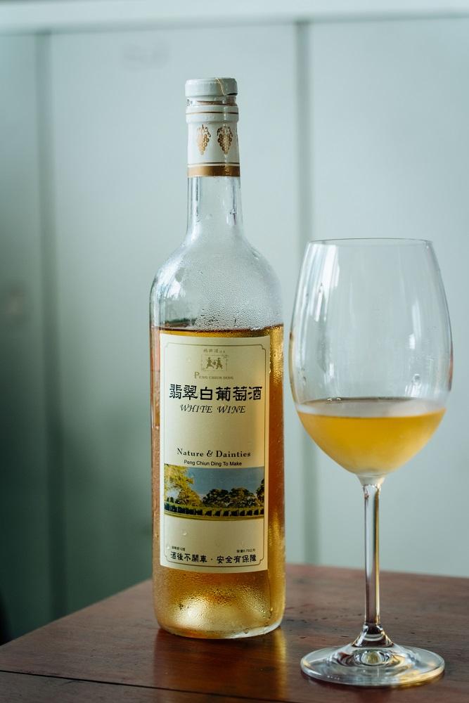 翡翠白葡萄酒/鵬群頂酒莊/葡萄酒/彰化/台灣