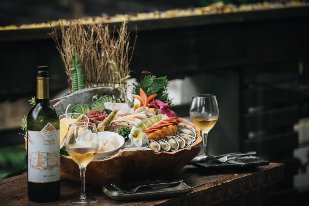 無菜單料理/頭城農場/藏酒酒莊/宜蘭/台灣