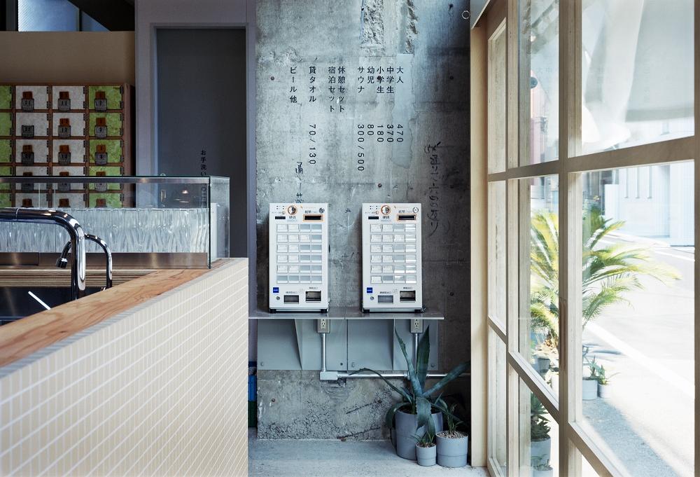 內部空間/黃金湯/東京/日本