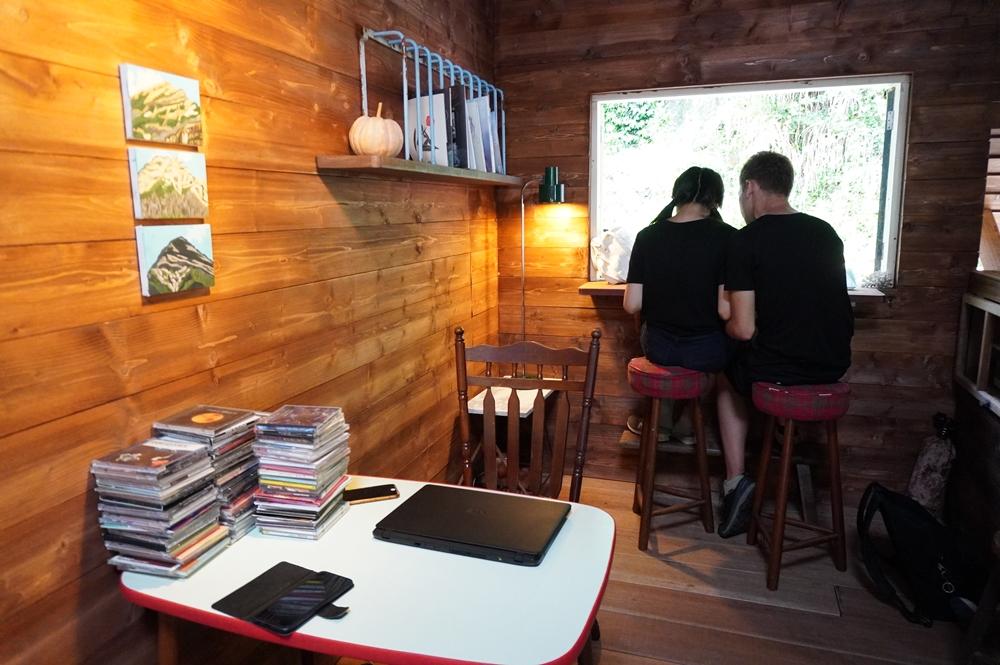 內部空間/與路咖啡/平溪/台鐵/台灣