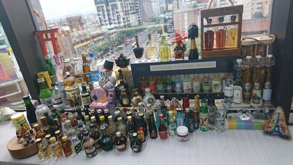 酒瓶/紀念品/那些年我們瞎拚的旅行買物