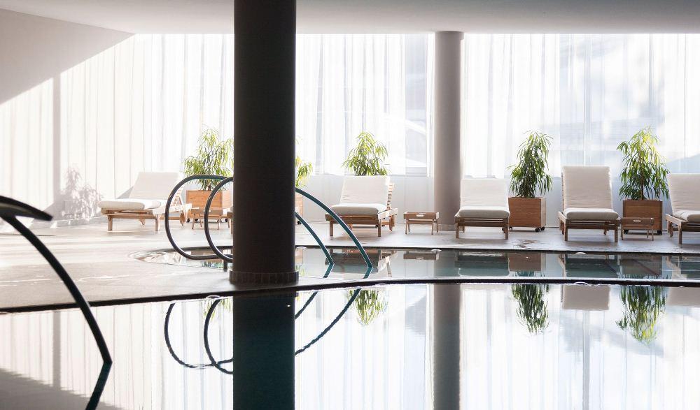 泳池/內部空間/Schgaguler Hotel/旅館/義大利/阿爾卑斯山/歐洲