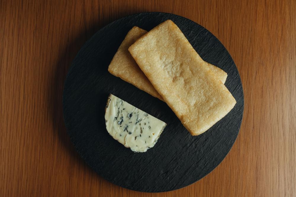 藍紋乳酪烤豆皮/下酒菜/美食/台灣