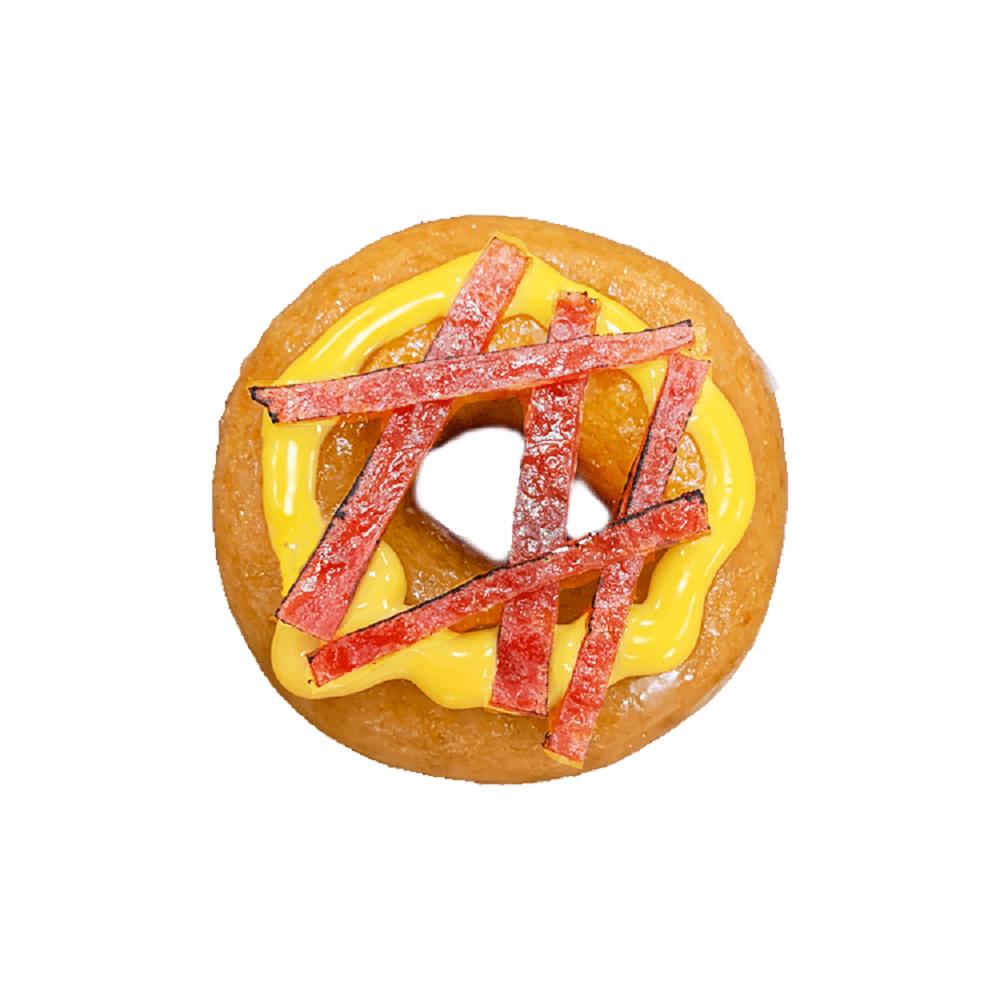Krispy Kreme/甜甜圈/起司肉乾/台北/台灣