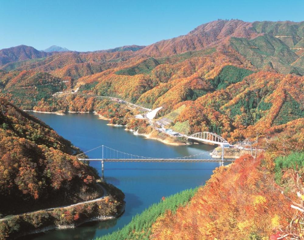 越山若水/福井縣/日本/自然/旅遊