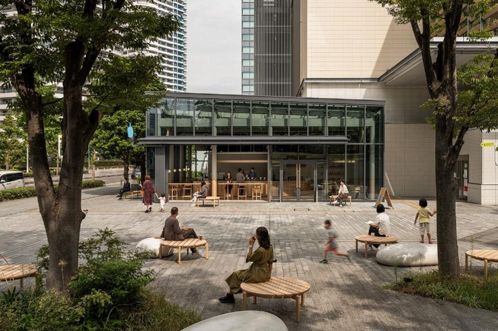 Blue Bottle橫濱港未來店/美食/咖啡館/橫濱/日本