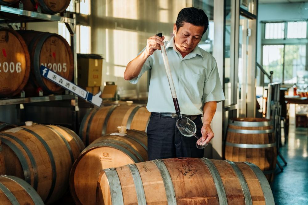 葡萄酒/秉森酒莊/彰化/台灣