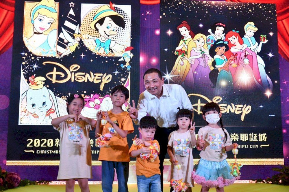 新北耶誕城/迪士尼公主/2020聖誕節/新北/台灣
