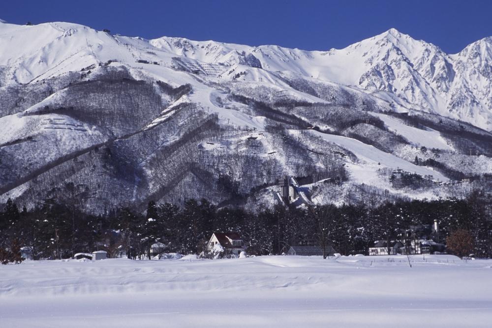 日本長野縣的白馬八方尾根滑雪場
